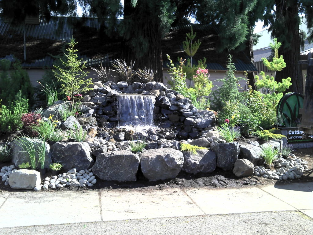 eugene oregon water feature contractor