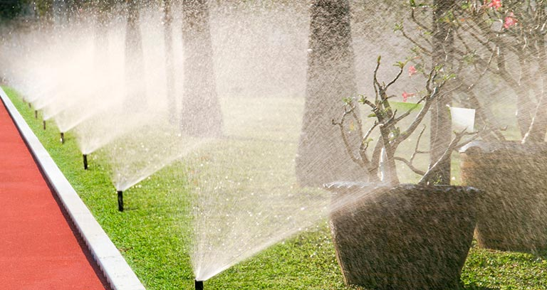 Eugene landscape irrigation